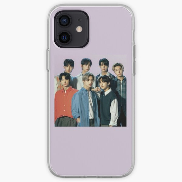2021 ENHYPEN Group Photo - Purple Background iPhone Soft Case RB3107 product Offical Enhypen Merch