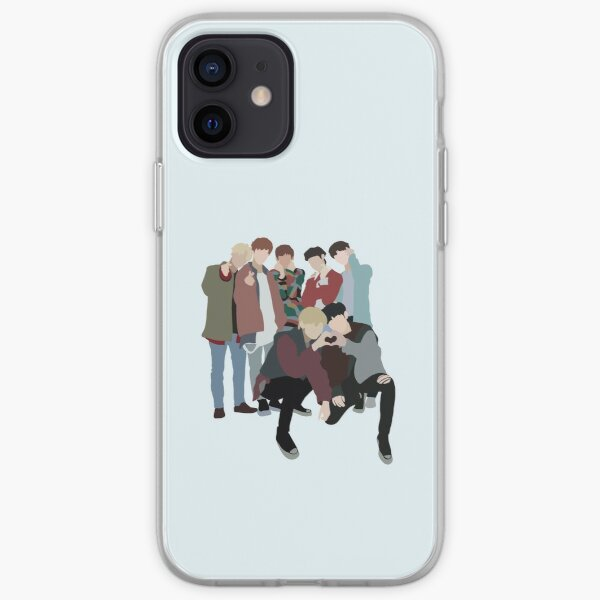ENHYPEN Border Day One Dawn Concept Photo Illustration  iPhone Soft Case RB3107 product Offical Enhypen Merch