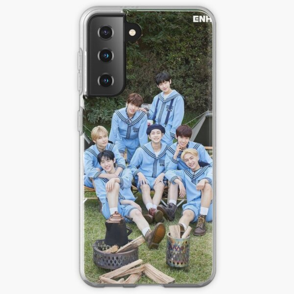ENHYPEN Group Photo 2021 Samsung Galaxy Soft Case RB3107 product Offical Enhypen Merch