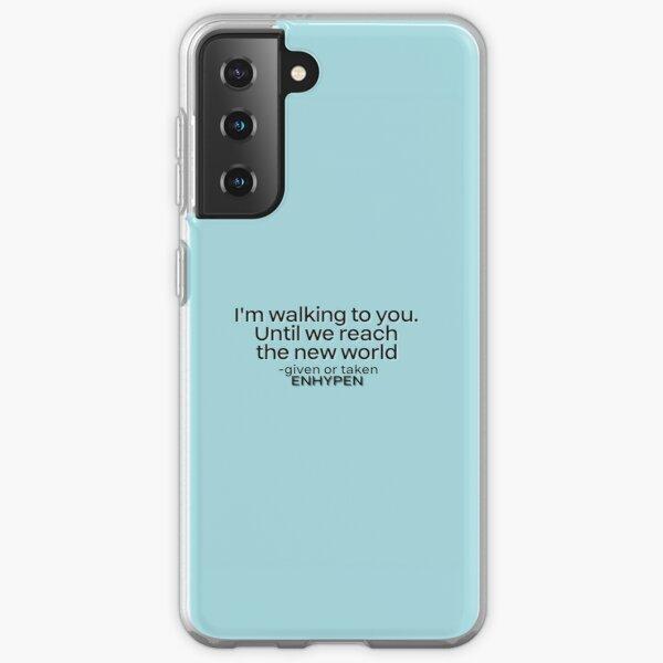 ENHYPEN 'GIVEN OR TAKEN' LYRICS Samsung Galaxy Soft Case RB3107 product Offical Enhypen Merch