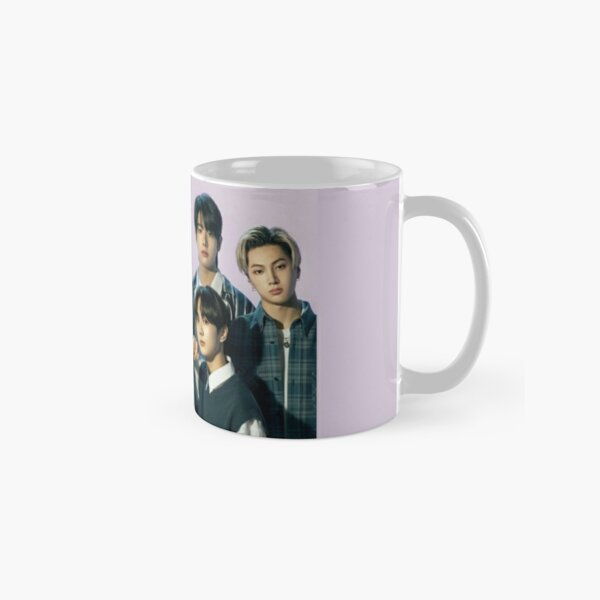 2021 ENHYPEN Group Photo - Purple Background Classic Mug RB3107 product Offical Enhypen Merch