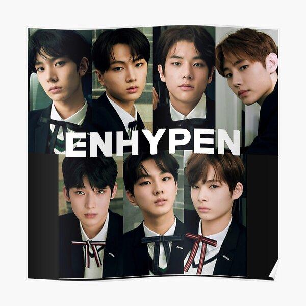 Enhypen Group Poster RB3107 product Offical Enhypen Merch