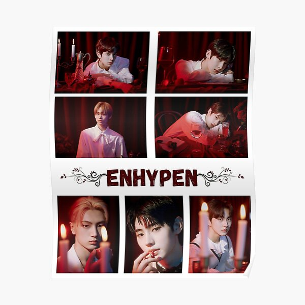 ENHYPEN - Given-Taken All members ( Jungwon, Heeseung, Jay, Jake, Sunghoon, Sunoo, Ni-ki ) Poster RB3107 product Offical Enhypen Merch