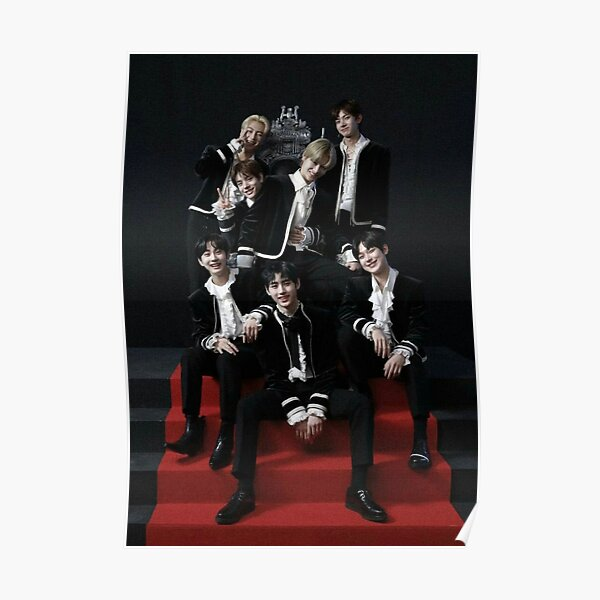 ENHYPEN Group Photo Poster RB3107 product Offical Enhypen Merch