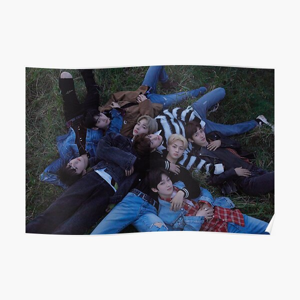 Enhypen 엔하이픈 Board day one 2 Poster RB3107 product Offical Enhypen Merch