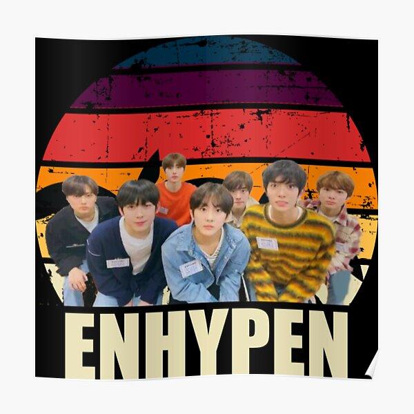 Enhypen retro Poster RB3107 product Offical Enhypen Merch