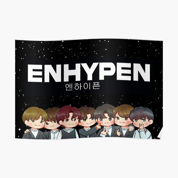 Korean Design: ENHYPEN Poster RB3107 product Offical Enhypen Merch