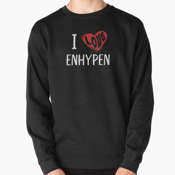 I Love Enhypen Pullover Sweatshirt RB3107 product Offical Enhypen Merch