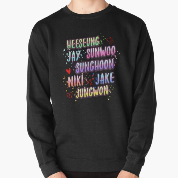 Enhypen kpop Pullover Sweatshirt RB3107 product Offical Enhypen Merch