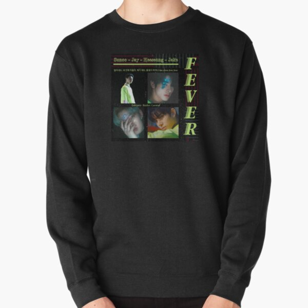 Enhypen Fever Sunoo Jake Jay and Heeseung Pullover Sweatshirt RB3107 product Offical Enhypen Merch