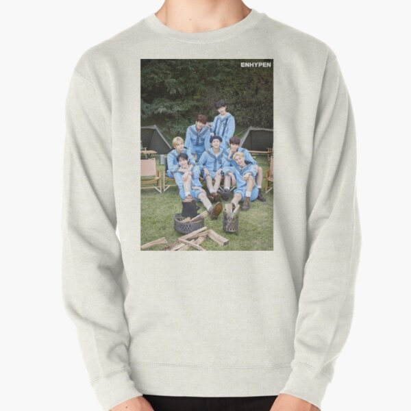 ENHYPEN Group Photo 2021 Pullover Sweatshirt RB3107 product Offical Enhypen Merch