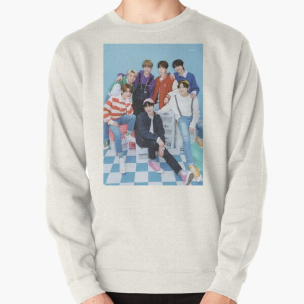 ENHYPEN Group Photo - 5 Pullover Sweatshirt RB3107 product Offical Enhypen Merch