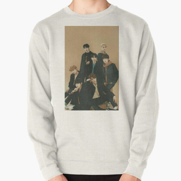 ENHYPEN Group Photo Aesthetic Pullover Sweatshirt RB3107 product Offical Enhypen Merch