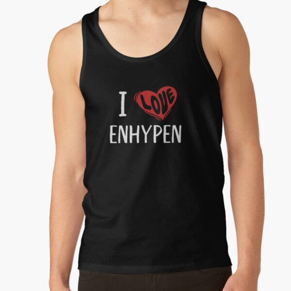 I Love Enhypen Tank Top RB3107 product Offical Enhypen Merch
