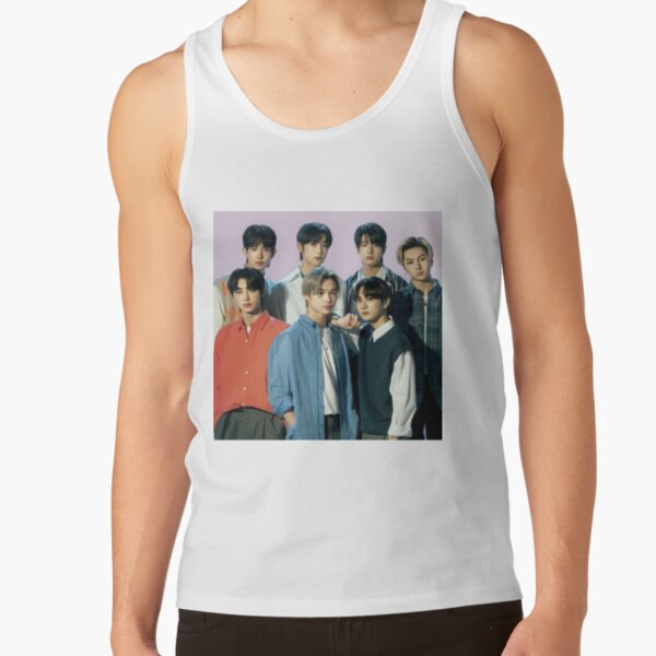 2021 ENHYPEN Group Photo - Purple Background Tank Top RB3107 product Offical Enhypen Merch