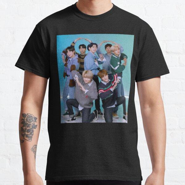 ENHYPEN 2021 Original Heart Pose Classic T-Shirt RB3107 product Offical Enhypen Merch