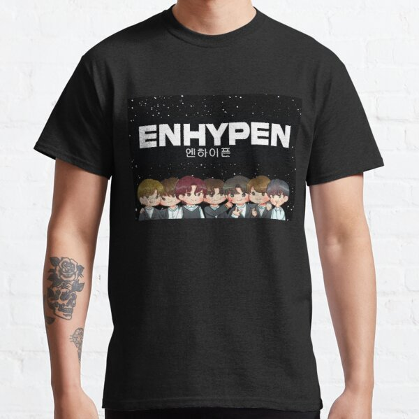 Korean Design: ENHYPEN Classic T-Shirt RB3107 product Offical Enhypen Merch