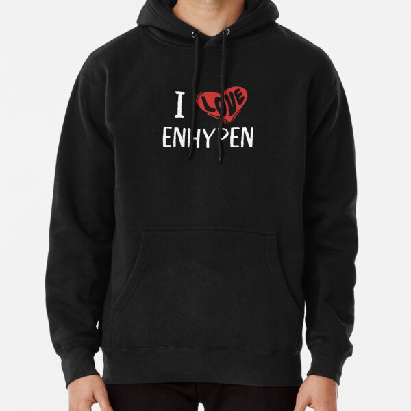 I Love Enhypen Pullover Hoodie RB3107 product Offical Enhypen Merch