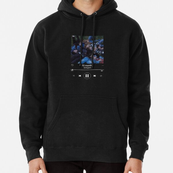 Enhypen 10 months playlist Pullover Hoodie RB3107 product Offical Enhypen Merch