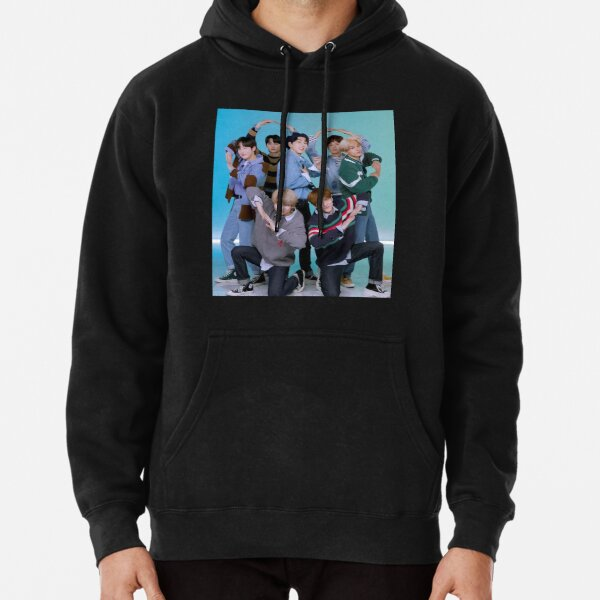 ENHYPEN 2021 Original Heart Pose Pullover Hoodie RB3107 product Offical Enhypen Merch