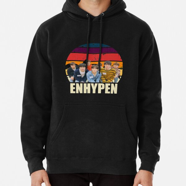 Enhypen retro Pullover Hoodie RB3107 product Offical Enhypen Merch