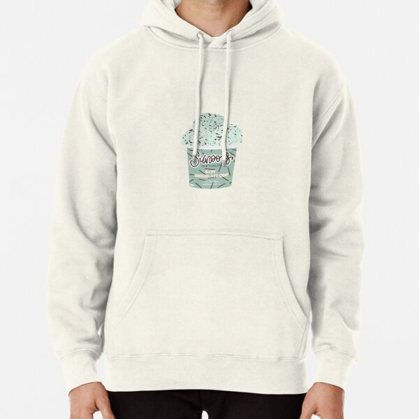 SUNOO'S MINT CHOCOLATE ICE CREAM // ENHYPEN Pullover Hoodie RB3107 product Offical Enhypen Merch