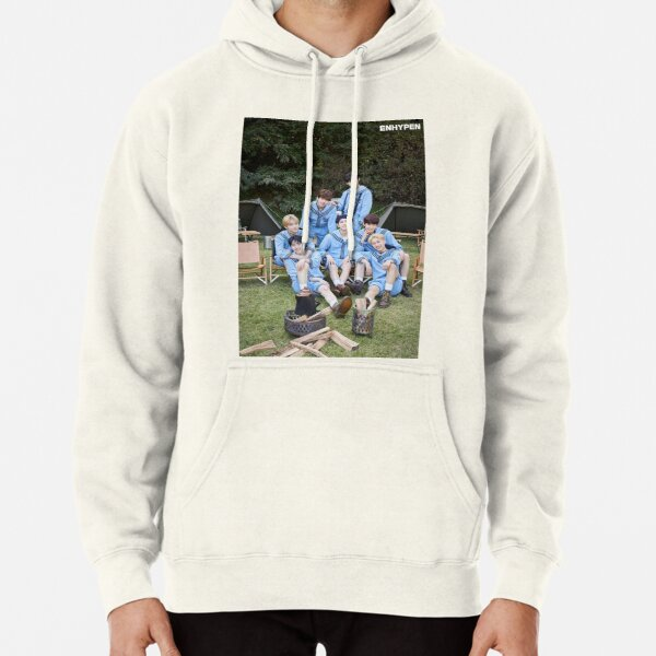 ENHYPEN Group Photo 2021 Pullover Hoodie RB3107 product Offical Enhypen Merch