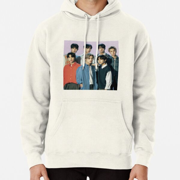 2021 ENHYPEN Group Photo - Purple Background Pullover Hoodie RB3107 product Offical Enhypen Merch