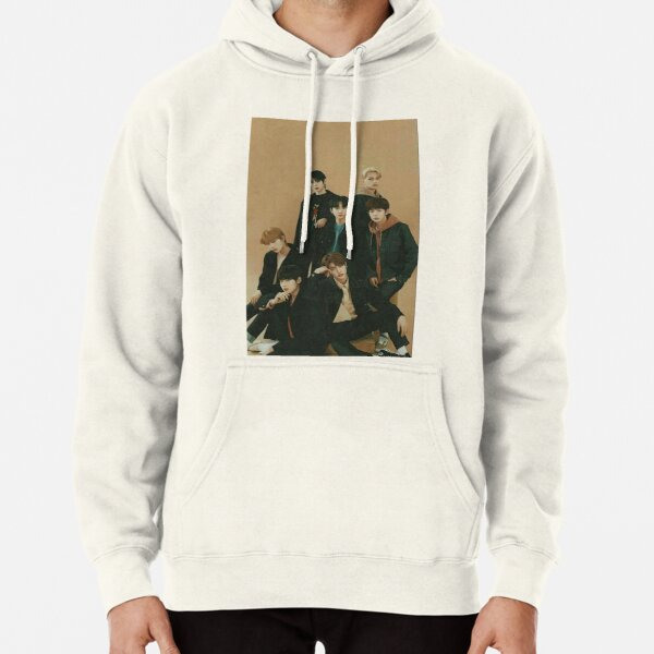 ENHYPEN Group Photo Aesthetic Pullover Hoodie RB3107 product Offical Enhypen Merch