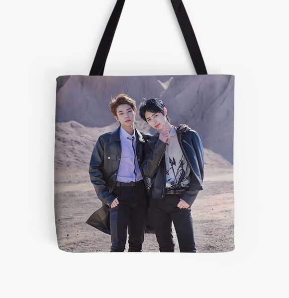 ENHYPEN Jake and Sunghoon 2021 All Over Print Tote Bag RB3107 product Offical Enhypen Merch