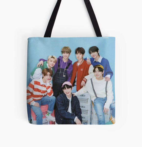 ENHYPEN Group Photo - 5 All Over Print Tote Bag RB3107 product Offical Enhypen Merch