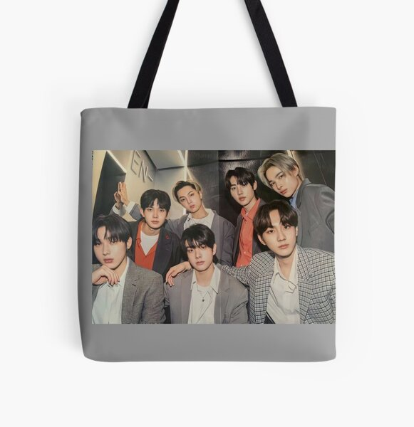 ENHYPEN Group Photo - 4 All Over Print Tote Bag RB3107 product Offical Enhypen Merch