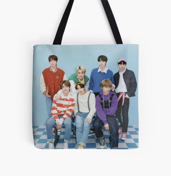 ENHYPEN Group Photo - 7 All Over Print Tote Bag RB3107 product Offical Enhypen Merch