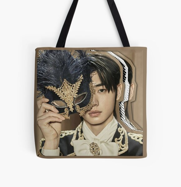 SUNGHOON - ENHYPEN Border: Carnival Concept UP Version All Over Print Tote Bag RB3107 product Offical Enhypen Merch