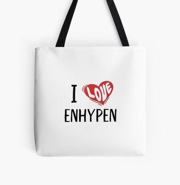 I Love Enhypen All Over Print Tote Bag RB3107 product Offical Enhypen Merch