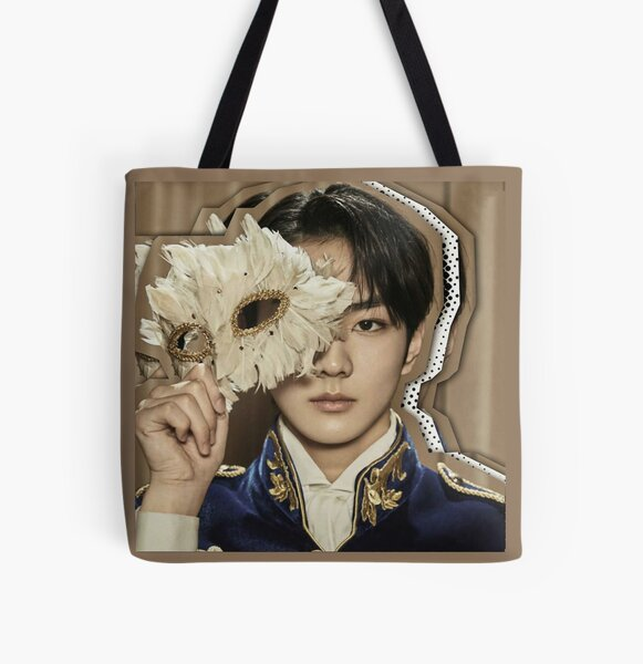 JUNGWON - ENHYPEN Border: Carnival Concept UP Version All Over Print Tote Bag RB3107 product Offical Enhypen Merch