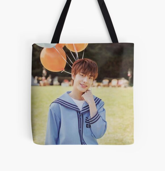 ENHYPEN Jake - Debut Photo All Over Print Tote Bag RB3107 product Offical Enhypen Merch