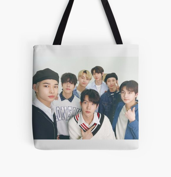 ENHYPEN 2021 Selfie Photo All Over Print Tote Bag RB3107 product Offical Enhypen Merch