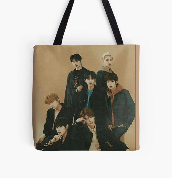 ENHYPEN Group Photo Aesthetic All Over Print Tote Bag RB3107 product Offical Enhypen Merch