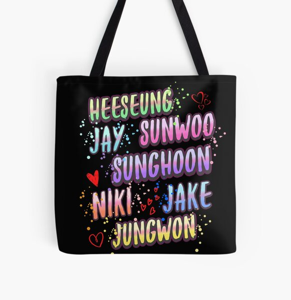 Enhypen kpop All Over Print Tote Bag RB3107 product Offical Enhypen Merch