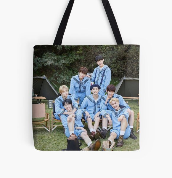 ENHYPEN Group Photo 2021 All Over Print Tote Bag RB3107 product Offical Enhypen Merch