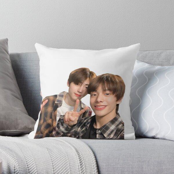 Jake and Sunghoon (Jakehoon) Selca: Enhypen Throw Pillow RB3107 product Offical Enhypen Merch