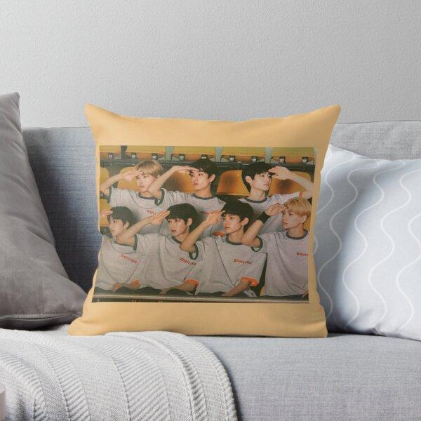 ENHYPEN Group Photo Throw Pillow RB3107 product Offical Enhypen Merch