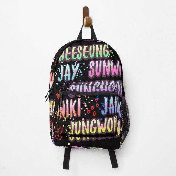 Enhypen kpop Backpack RB3107 product Offical Enhypen Merch