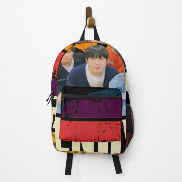 Enhypen retro Backpack RB3107 product Offical Enhypen Merch