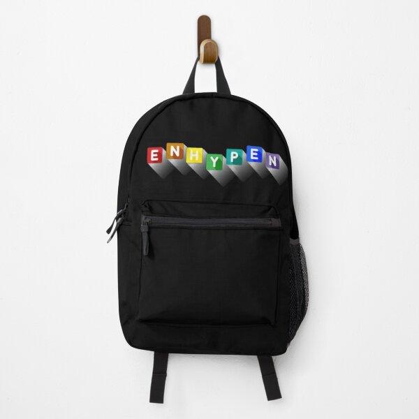 enhypen rainbow  Backpack RB3107 product Offical Enhypen Merch