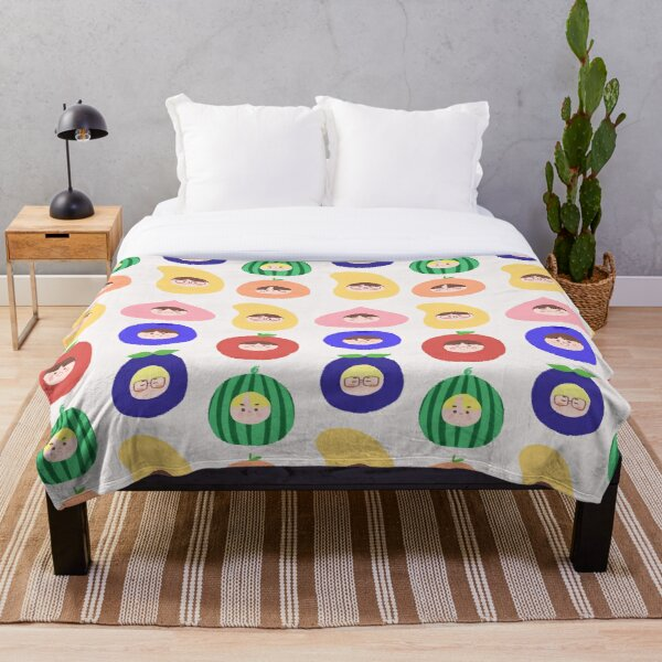 ENHYPEN as fruits! (7 Members) ☆ I-LAND Throw Blanket RB3107 product Offical Enhypen Merch
