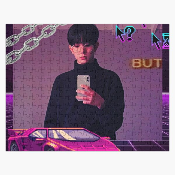 ENHYPEN Heeseung mirror selfie aesthetic Jigsaw Puzzle RB3107 product Offical Enhypen Merch