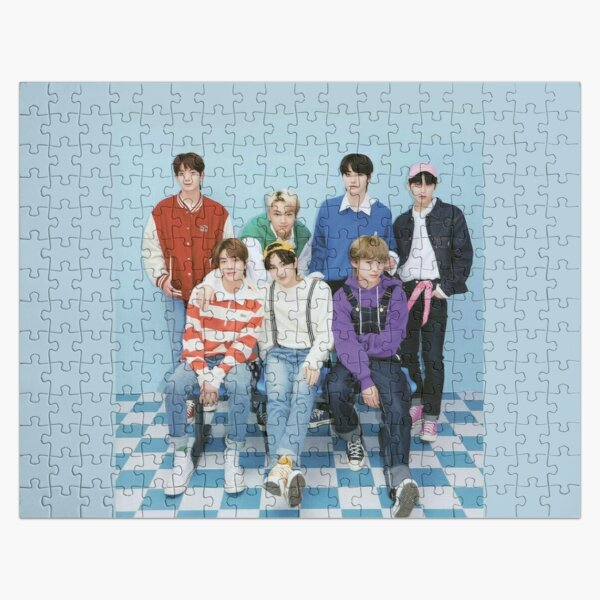 ENHYPEN Group Photo - 7 Jigsaw Puzzle RB3107 product Offical Enhypen Merch