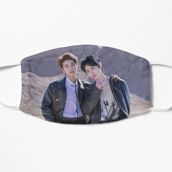 ENHYPEN Jake and Sunghoon 2021 Flat Mask RB3107 product Offical Enhypen Merch